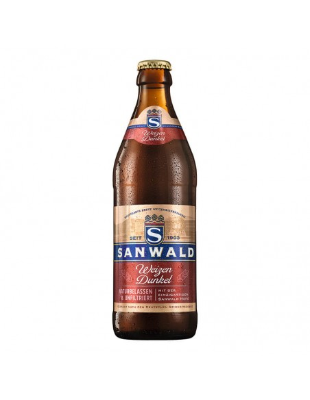 Cerveza trigo Sanwald Hefe Dunkel | Birra365