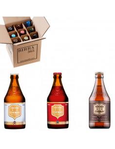 Caja selección de cervezas Chimay la cerveza trapense más famosa | Birra365