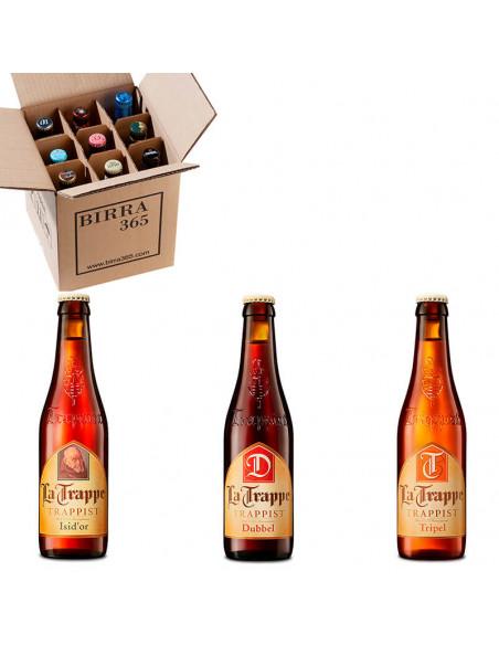 La mejor caja de cervezas trapenses para regalar. Cerveza La Trappe | Birra365