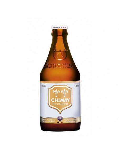 Cerveza trapense tripel Chimay blanca | Birra365
