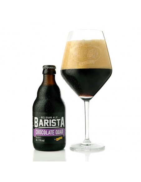 Cerveza especial chocolate Kasteel Barista Chocolate Quad - Birra365
