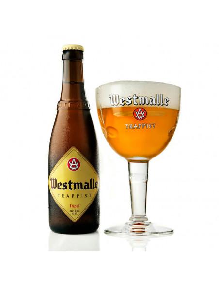 Cerveza trapense Westmalle tripel 33cl | Birra365