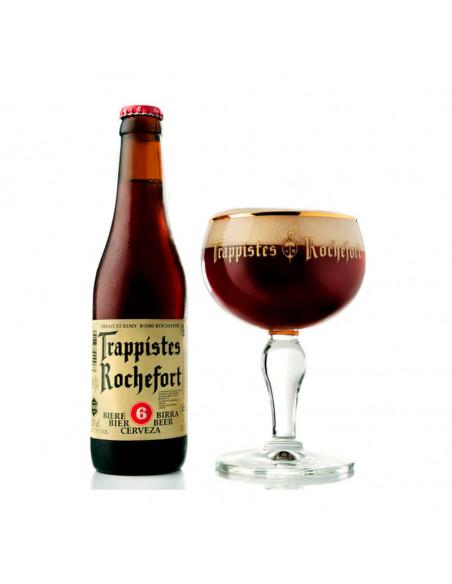 Cerveza trapense tostada Rochefort 6 - Birra365