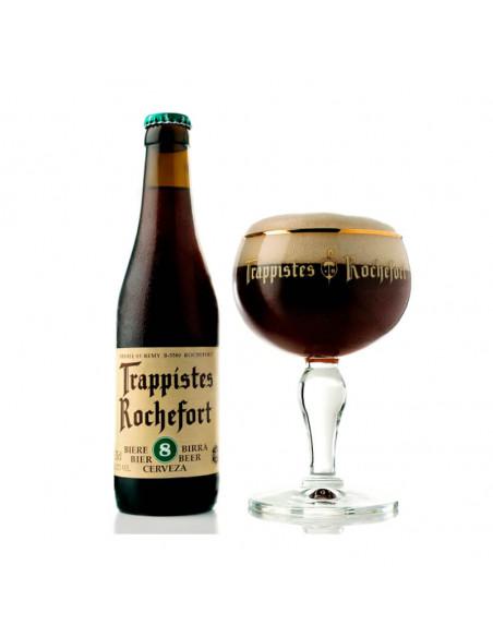 Cerveza tostada trapense double Rochefort 8 - Birra365