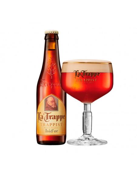 Cerveza tostada trapense La Trappe Isid'or - Birra365