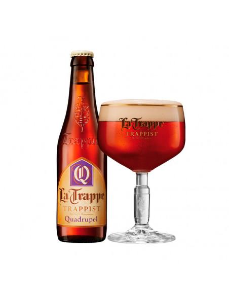 Cerveza trapense tostada quadrupel La Trappe Quadrupel - Birra365