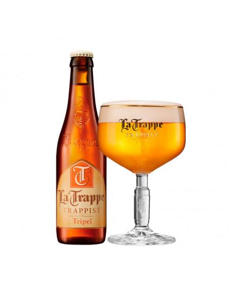 Cerveza trapense triple La Trappe Tripel - Birra365