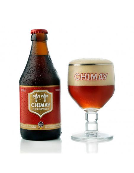 Cerveza tostada trapense Chimay Roja - Birra365
