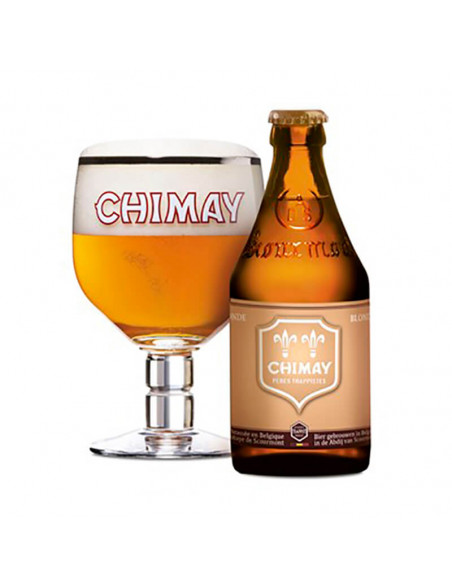 Cerveza trapense Chimay doree blonde 33cl | Birra365