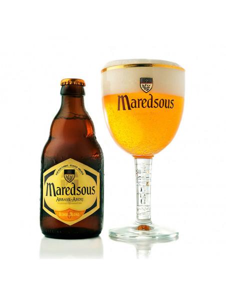 Cerveza de abadía blond Maredsous 6 - Birra365