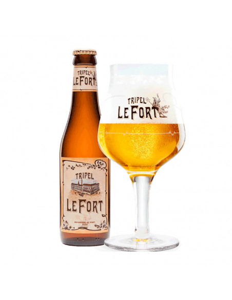 Cerveza belga tripel Lefort Tripel - Birra365