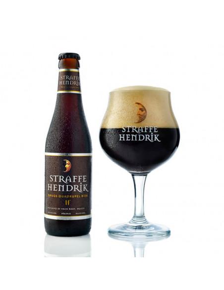 Cerveza oscura Straffe Hendrik Quadrupel - Birra365
