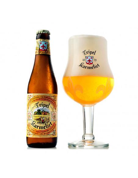 Cerveza belga Tripel Karmeliet - Birra365