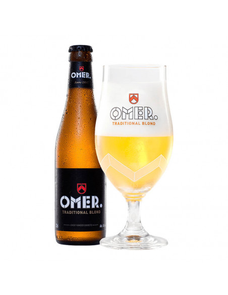 Cerveza belga blonde ale OMER - Birra365