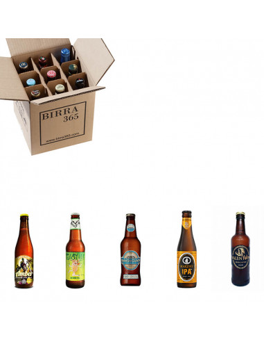 Caja de cervezas para regalar a padres hipster - Birra365