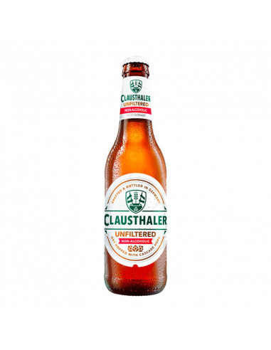 Cerveza sin alcohol Clausthalel Unfiltered - Birra365