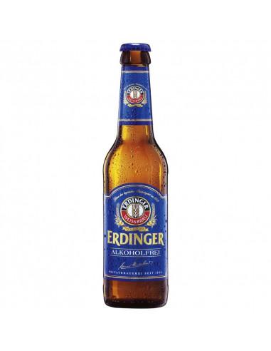 Cerveza sin alcohol de trigo Erdinger - Birra365