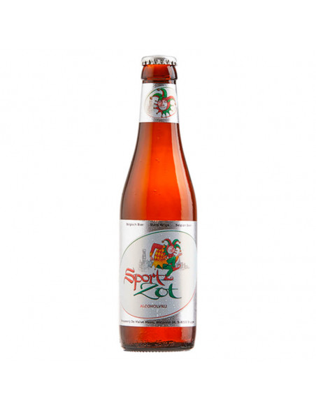 Especial cerveza sin alcohol Brugse Zot sport - Birra365