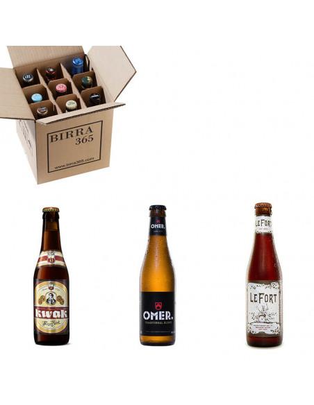 Caja de cervezas belgas con 3 estilos de gran calidad | Birra365
