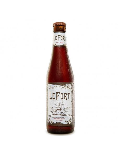 Cerveza tostada belga intensa Lefort Dark Brown | Birra365