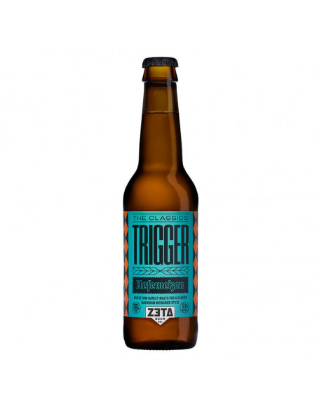 Cerveza artesanal de trigo Zeta Trigger   Birra365