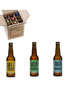 Caja de cerveza artesanal Zeta 3 variedades de cerveza | Birra365