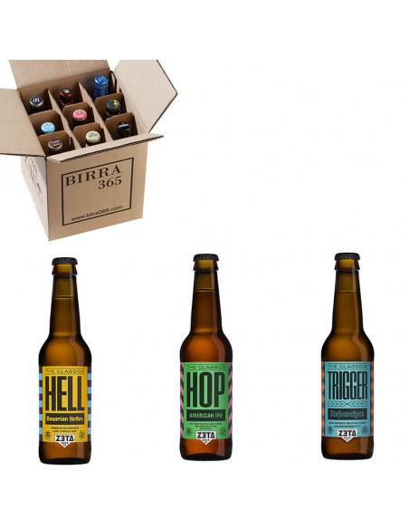 Caja de cerveza artesanal Zeta 3 variedades de cerveza   Birra365