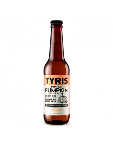 Cerveza artesana PIMPAM PUMPKIN Tyris...