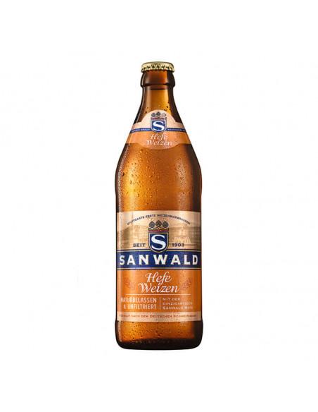 Cerveza de trigo alemana Sanwald HefeWeizen - Birra365