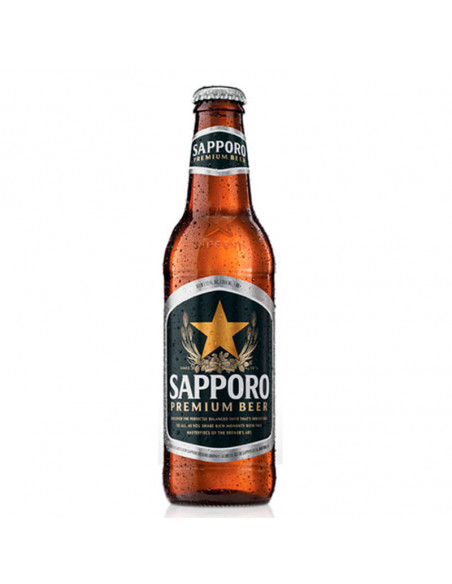 Cerveza japonesa premium beer Sapporo  - Birra365