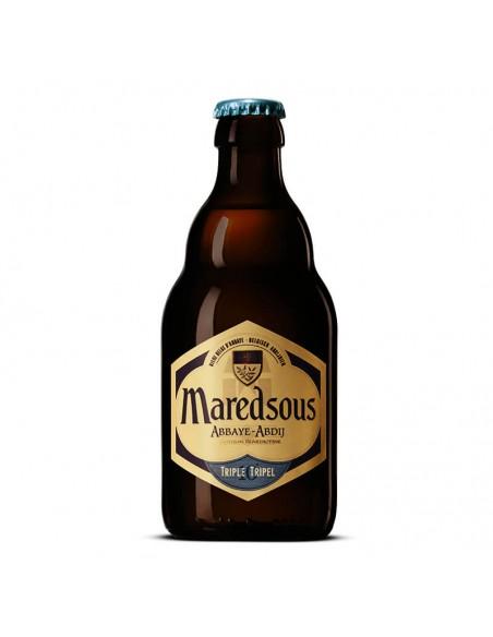 Cerveza abadía Tripel Maredsous 10 | Birra365