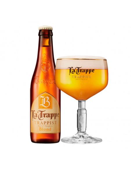 Cerveza trapense rubia La Trappe Blond - Birra365
