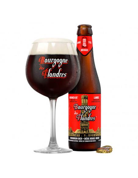 Cerveza tostada mixta Bourgogne des Flandres - Birra 365