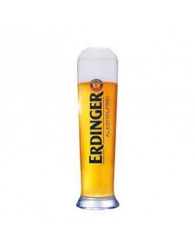 Vaso original cerveza sin alcohol Erdinger - Birra365