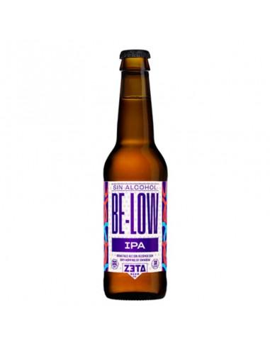 cerveza sin alcohol artesana BE-LOW Zeta - Birra365