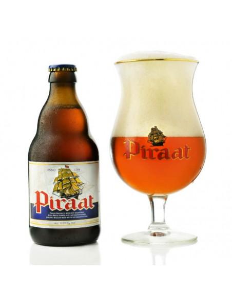 Cerveza Piraat con copa - Birra365