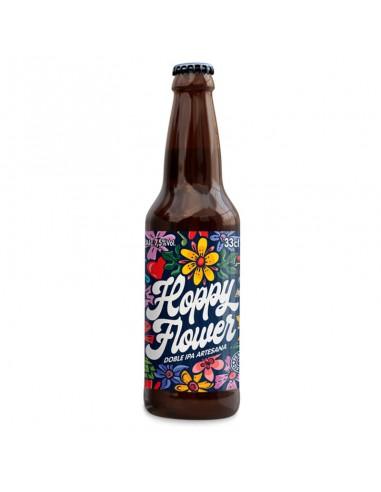 Cerveza artesana doble IPA Hoppy Flower B&B - Birra365