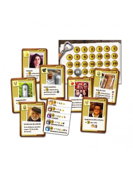 Juego de cartas sobre cerveza Cerveceros - Birra365