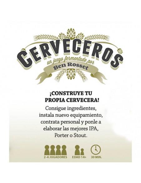 Juego de cartas Cerveceros - Birra365