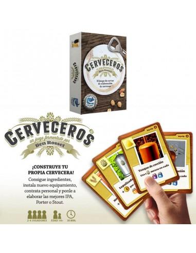 Juego de mesa Cerveceros - Birra365