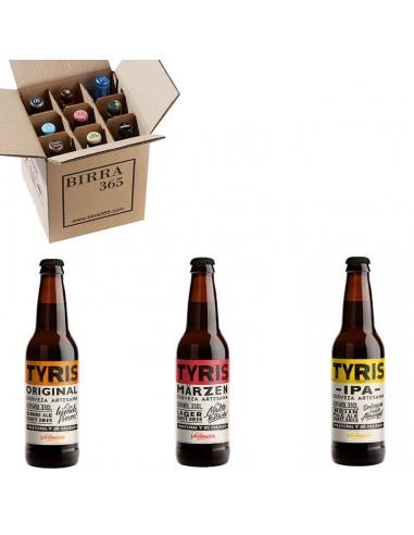 Pack de cerveza artesana Tyris - Birra365