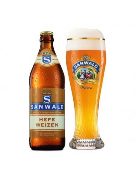 Cerveza de trigo alemana Sanwald Hefeweizen en Birra365