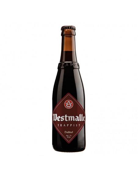cerveza trapense tostada Westmalle Dubbel - Birra365