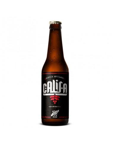 Cerveza artesana CALIFA MORENA 33cl