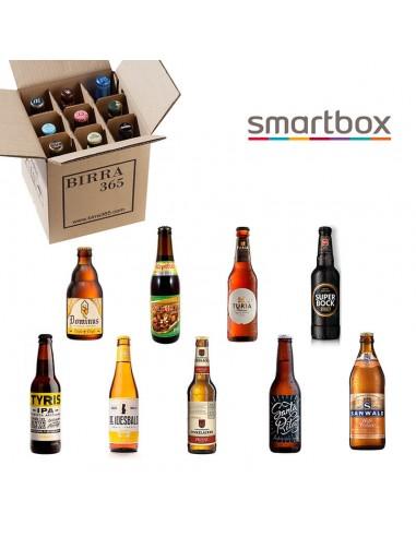Smartbox pack 9 degustación 9 cervezas diferentes - Birra365