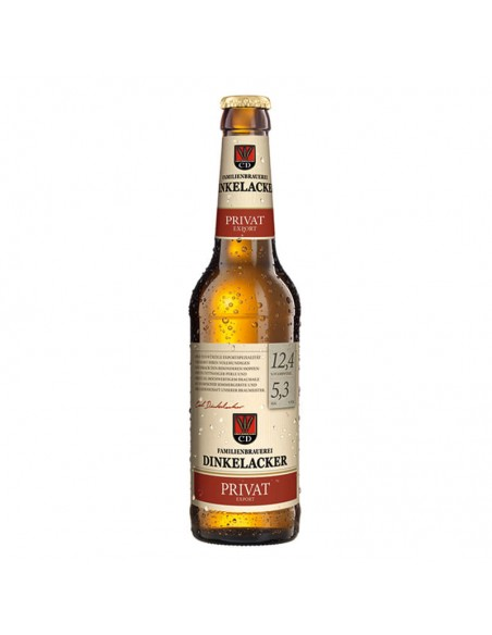 Cerveza alemana helles Dinkelacker Privat - Birra365