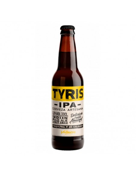 cerveza artesana IPA Tyris - Birra365