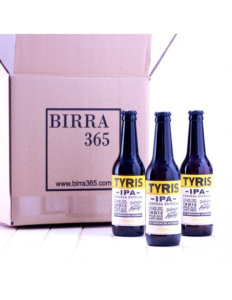 Comprar Cerveza artesana IPA Tyris valenciana - Birra365