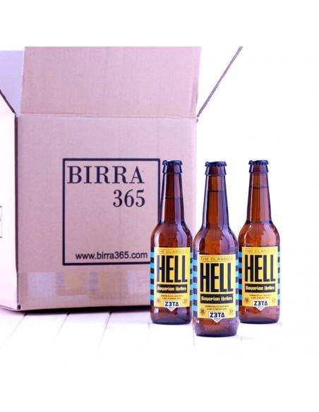 Cerveza artesana Zeta Hell valenciana - Birra365