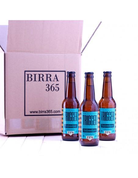 Cerveza artesanal trigo Zeta Trigger valenciana - Birra365